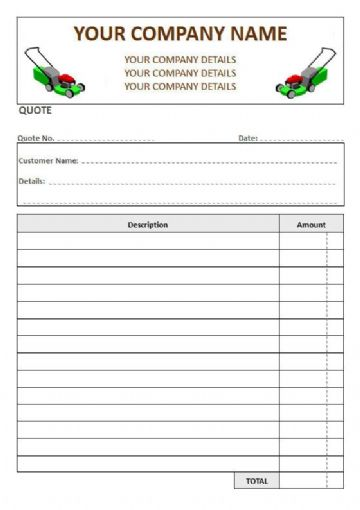 Gardeners NCR Quote Pads, 2 Column Lined